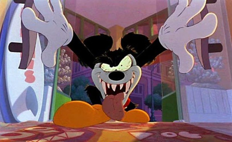 runaway brain, horror, topolino, animazione, disney, halloween