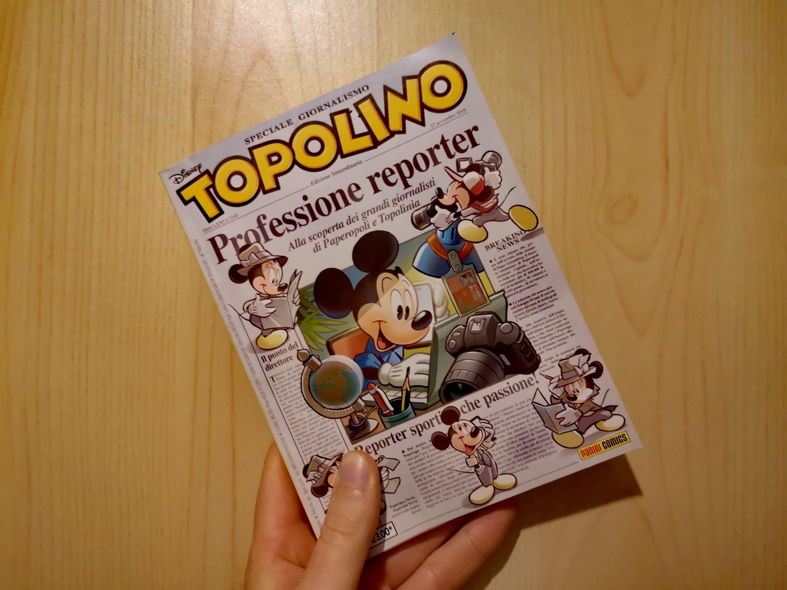"""""""Io, giornalista, ho apprezzato lo speciale di Topolino sul giornalismo"""""""