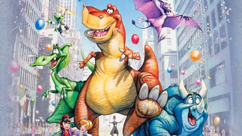 quattro dinosauri a new york