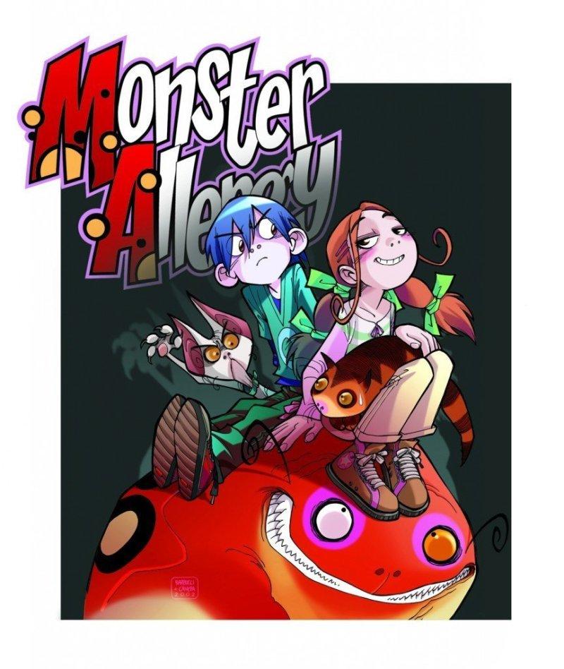 copertina monster allergy