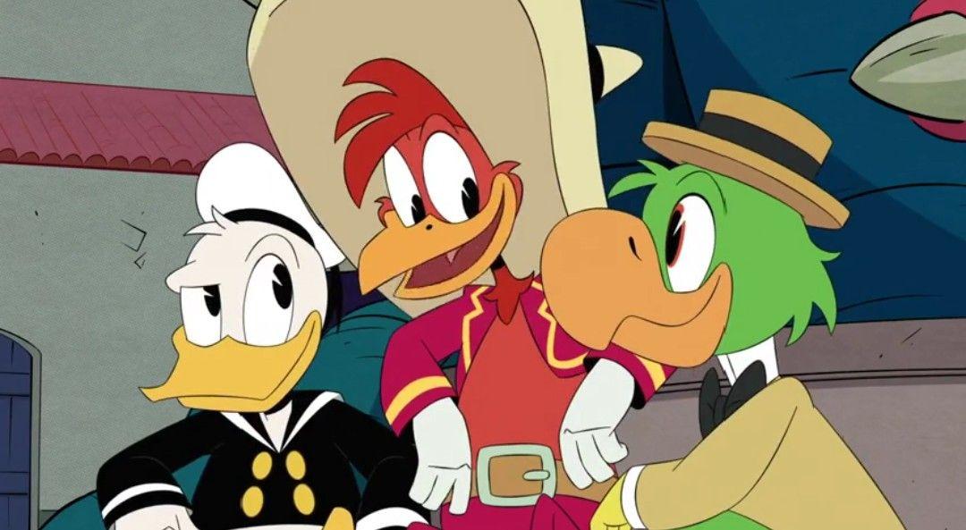 tre caballeros ducktales