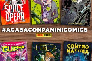 Panini Comics fa un regalo ai lettori a casa