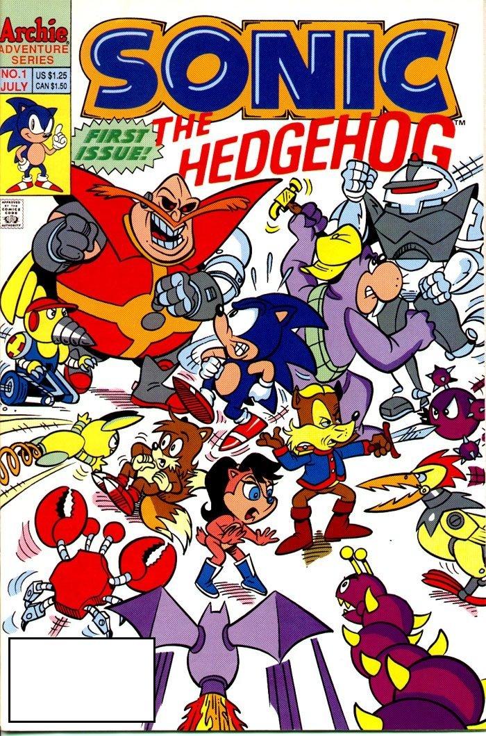 sonic the hedgehog numero 001