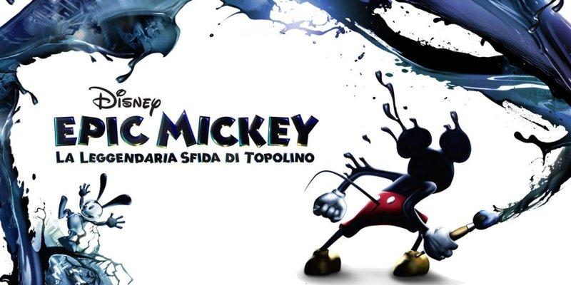 Immagine pubblicitaria per il lancia di Epic Mickey