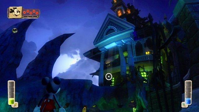 Esterno del Maniero Solitario di Epic Mickey