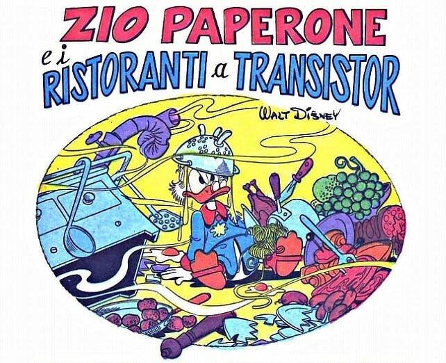 zio paperone e i ristoranti a transistor