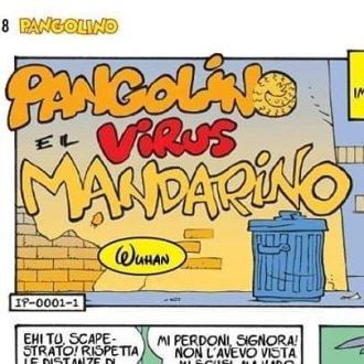 Pangolino e il virus mandarino