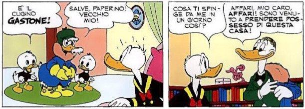 Gastone parente di Paperone
