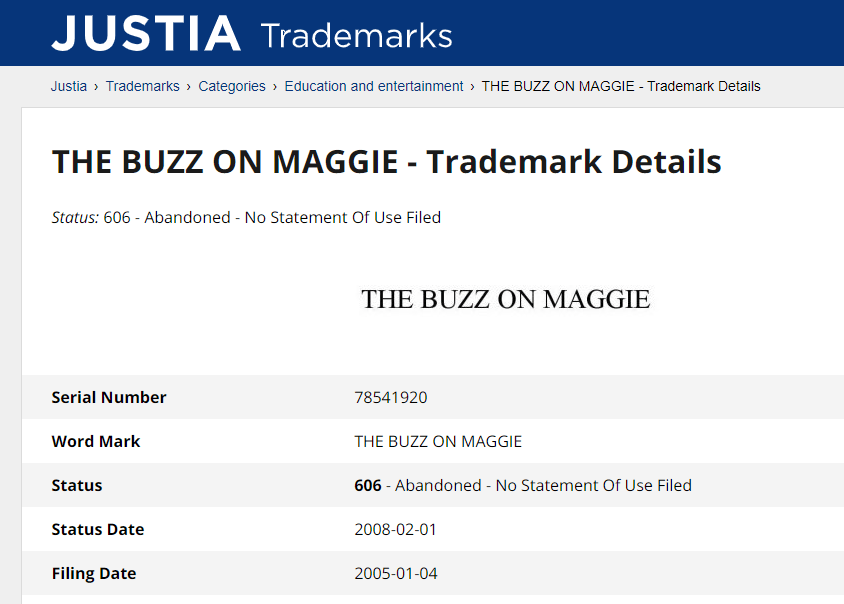 Trademark Maggie Vita da Mosca