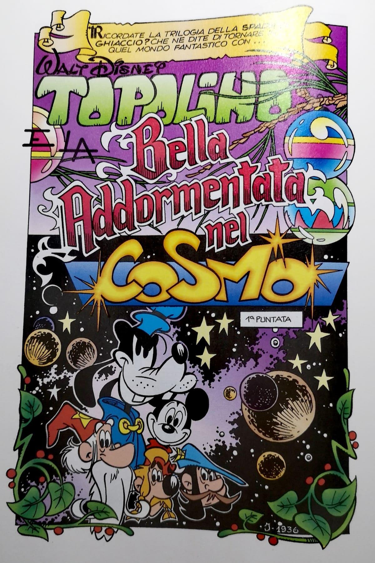 topolino e la bella addormentata nel cosmo
