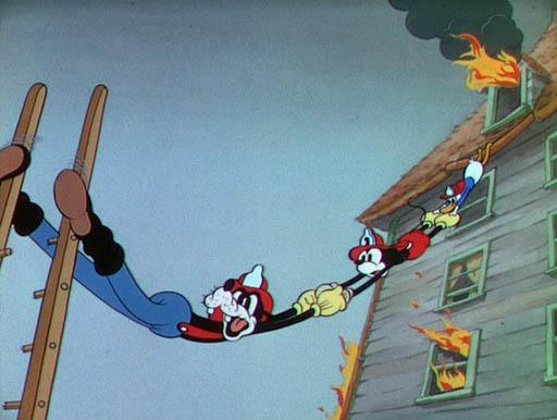 topolino paperino pippo pompieri