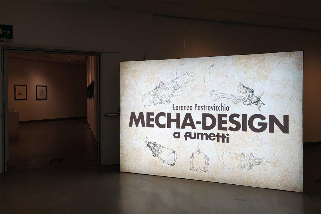 Mecha-Design a fumetti: Lorenzo Pastrovicchio al PAFF! di Pordenone