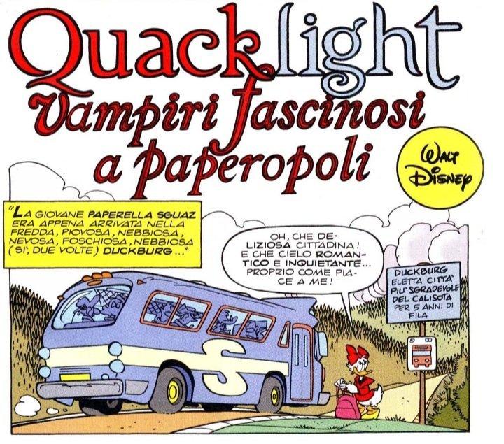 Storie di Topolino sui vampiri: Quacklight