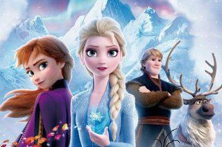 Frozen II copertina disney+