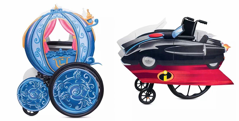 Disney lancia i primi costumi di Halloween per bambini con disabilità