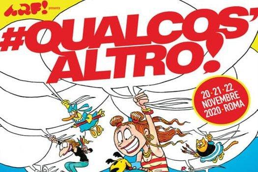 ARF! presenta #QUALCOS'ALTRO! la mostra del fumetto a Roma