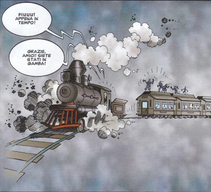 treno fantasma in x-mickey di roberto vian