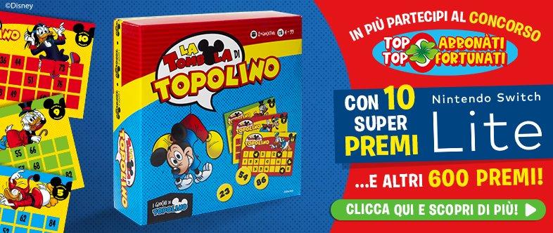 Topolino-Abbonamento-Tombola