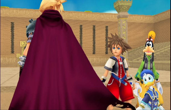 Cloud Kingdom Hearts