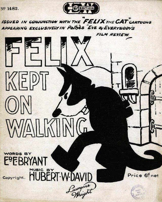 Felix kept on walking