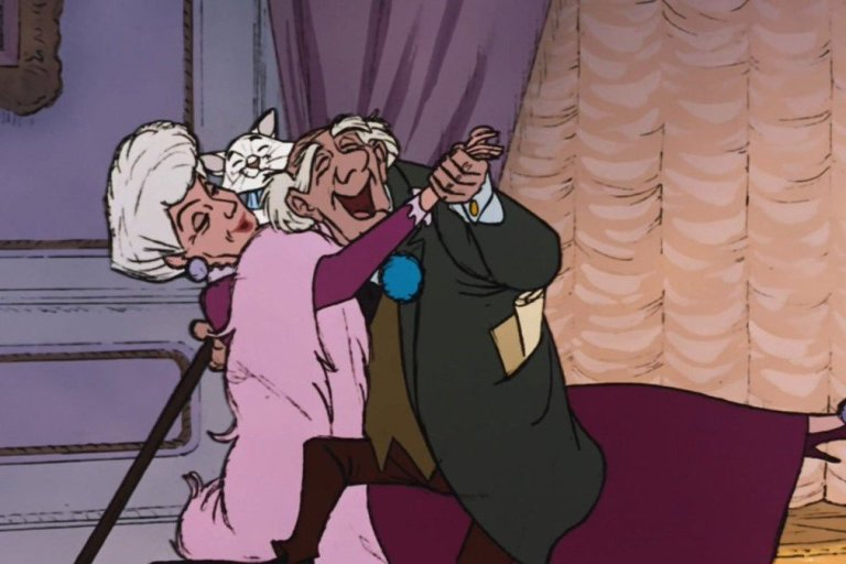 personaggi anziani film disney georges e adelaide habanera