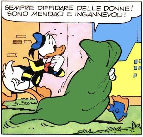 vignette sessiste Topolino