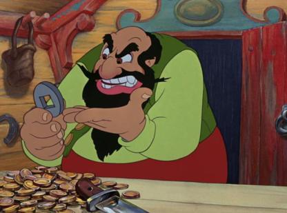 Mangiafuoco Pinocchio