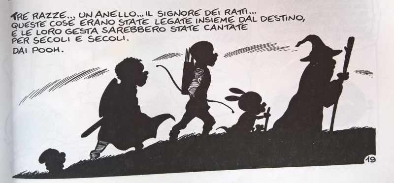 """Vignetta tratta da """"Il Signore dei Ratti"""" (Rat-Man)"""