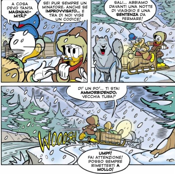 Paperone salva la vita a Rockerduck