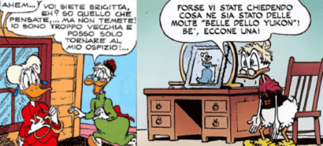Doretta anziana Barks-Scarpa
