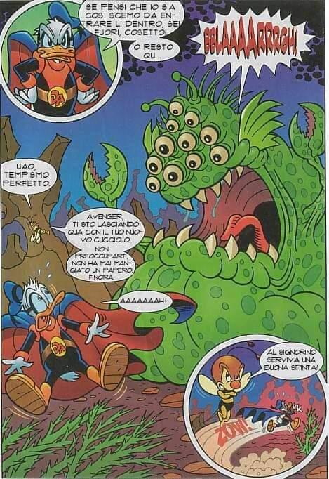 Storia brutta PK Appare il mostro gelatinoso