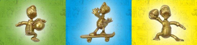 non solo topolino statuette gold