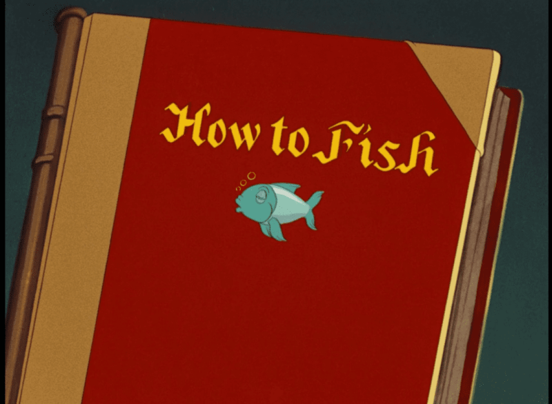 How to fish.