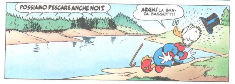 Banda Bassotti lago artificiale