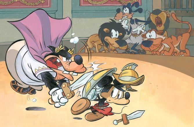 litografia esclusiva per i pre-ordini Mickey attraverso i secoli