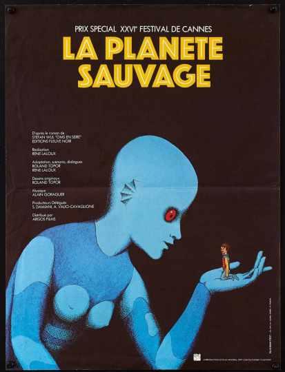 Il pianeta selvaggio poster