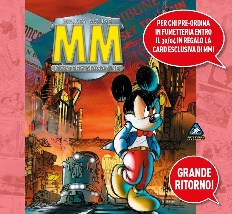 mmmm mickey mouse mystery magazine
