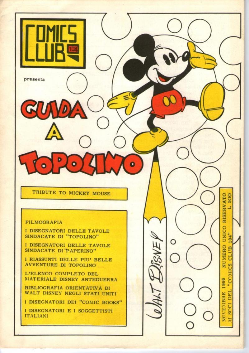 Al Levin Topolino