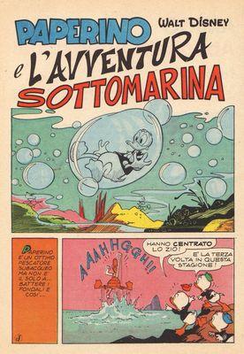 Paperino e l'avventura sottomarina Reginella