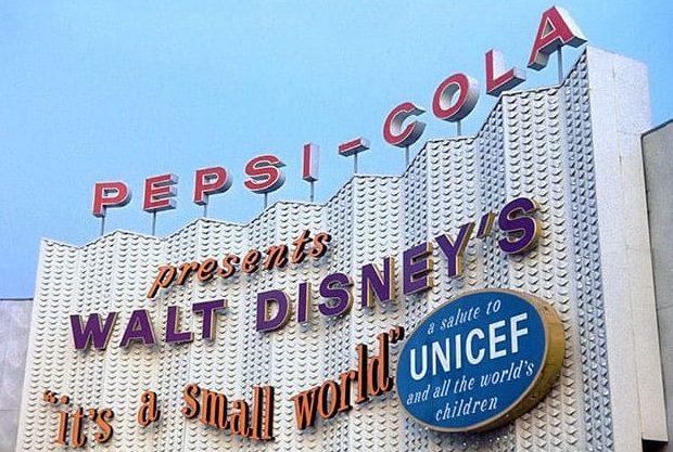 Padiglione UNICEF 1964 a New York.