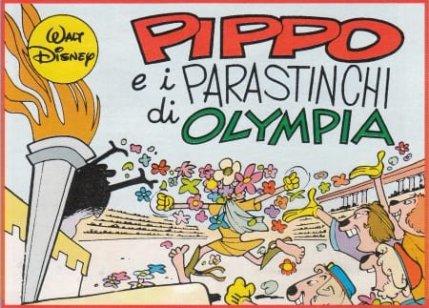 Pippo e i Parastinchi di Olimpiadi Disney