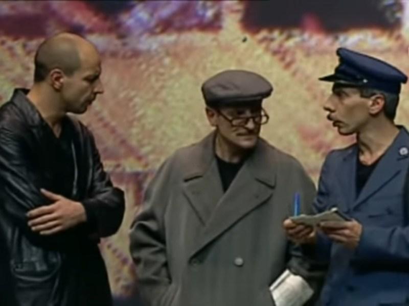 Sketch di Aldo, Giovanni e Giacomo: Il controllore