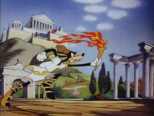 Pippo Disney Olimpiadi