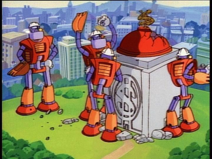Robot Robbers DuckTales