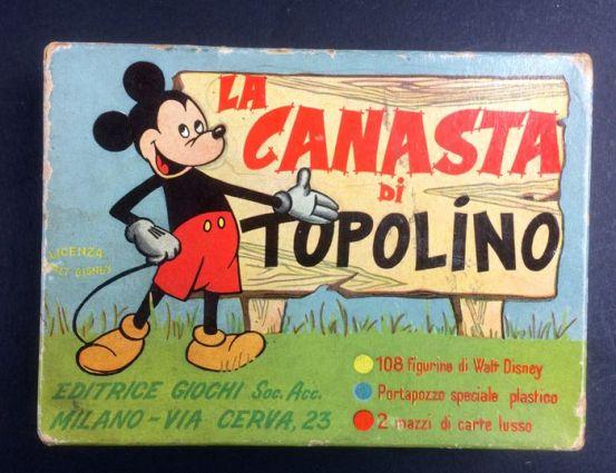 carte disney la canasta di topolino