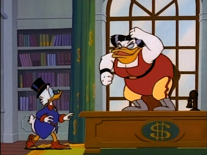 amelia travestita DuckTales
