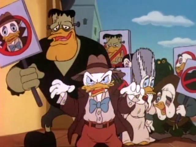 Paper Horror Picture Show DuckTales
