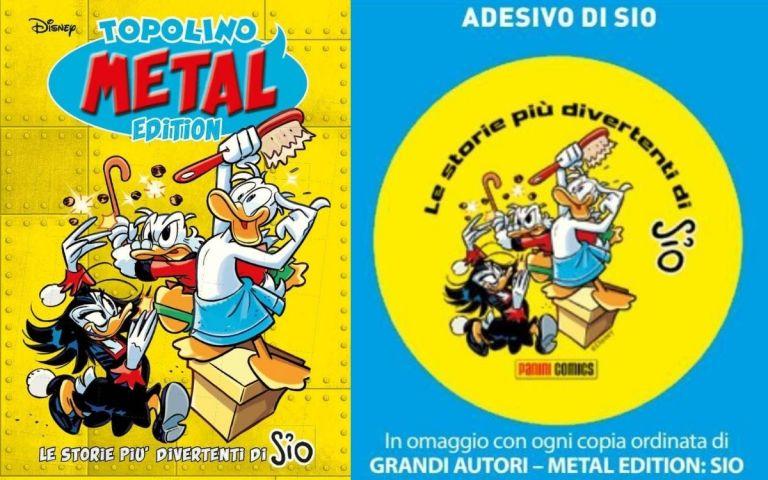 Topolino Metal Edition Adesivo SIO