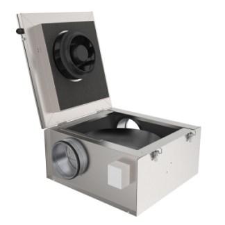 KVK Silent 125 AC, Systemair
