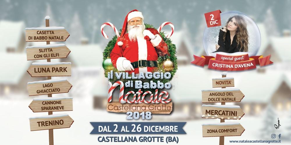 Immagini Del Villaggio Di Babbo Natale.Il Villaggio Di Babbo Natale A Castellana Grotte Ospite
